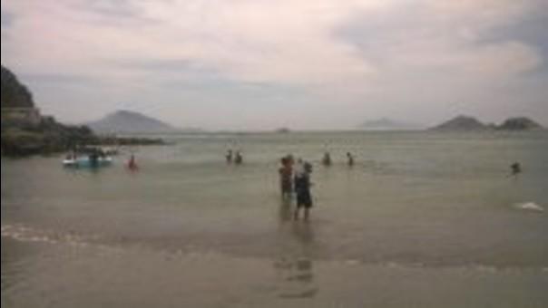 Autoridades de salud inspeccionaron las playas