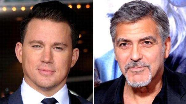 Channing Tatum y George Clooney