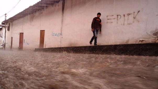 Lluvias en Cajamarca