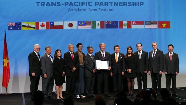 Perú firmó TPP en Nueva Zelanda.