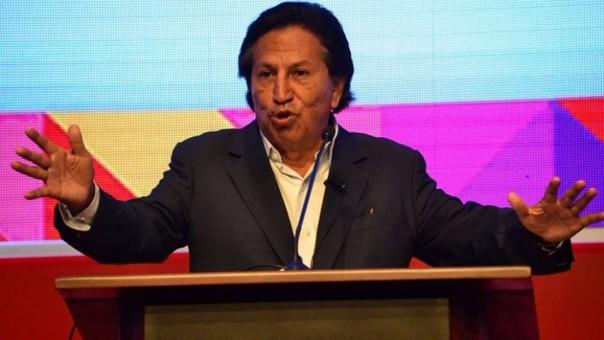 El candidato presidencial por Perú Posible, Alejandro Toledo, participó en la VI Conferencia Anticorrupción Internacional