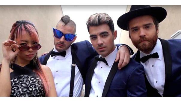 Joe Jonas con nuevo look