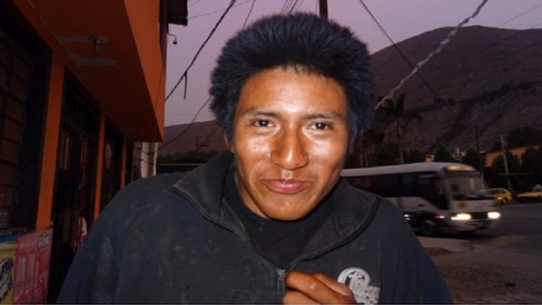 Dice llamarse <b>Luis Pereyra</b> Ochoa y ser del Cusco - 260326_76671