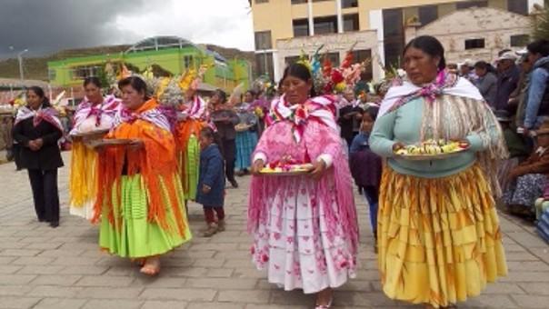 El Taripakuy es una de las actividades más representativas del carnaval.