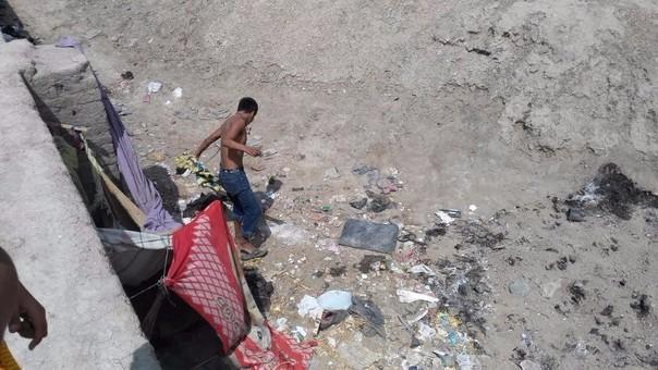 Erradican basura acumulada en zona arqueológica tras protestas.