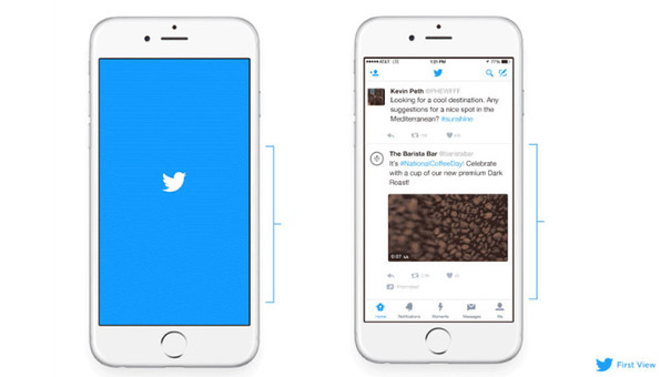 Twitter lanza First View