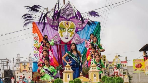 Gran Corso de Carnaval en Cutervo