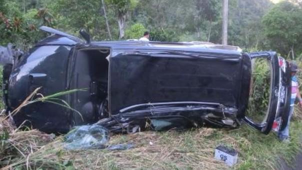 Chilena falleció tras despiste de camioneta.