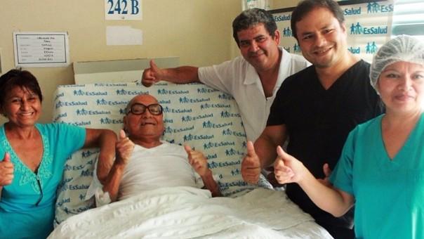 Exitosa operación en el Hospital Almanzor Aguinaga Asenjo.