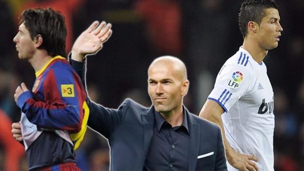 Resultado de imagen de Zinedine Zidane y Messi