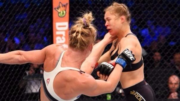 Ronda Rousey casi toma un decisión fatal tras perder con Holly Holm