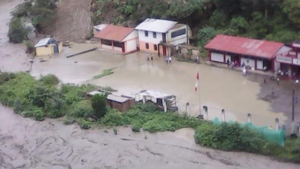 Deslizamiento contribuyen a que superficie de San Juan del Oro esté cediendo.