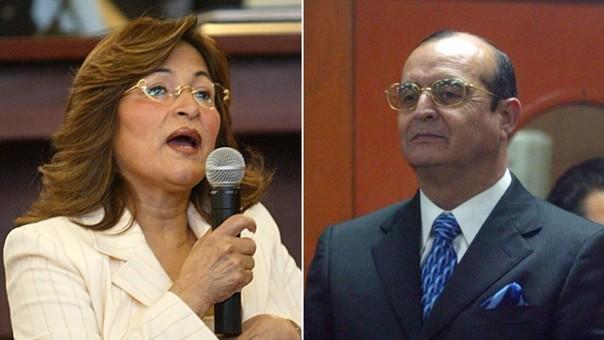 Matilde Pinchi Pinchi y Vladimiro Montesinos
