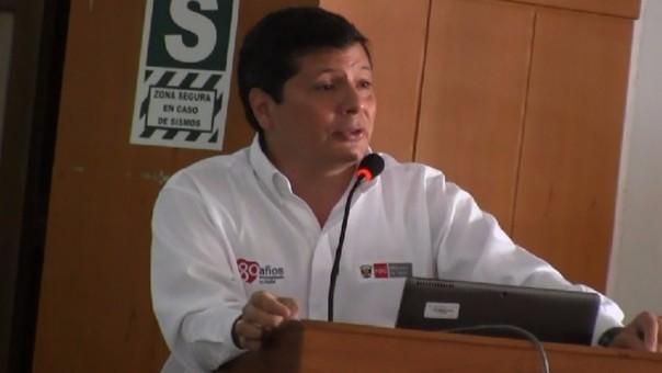 Viceministro de Prestaciones y Aseguramiento en Salud del Ministerio de Salud (Minsa), Dr. Pedro Grillo