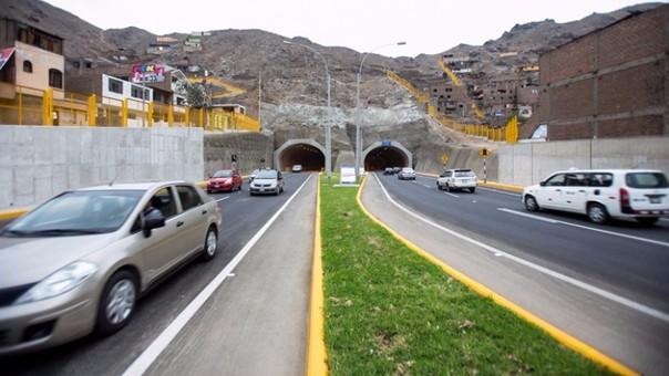 Túneles de San Juan de Lurigancho