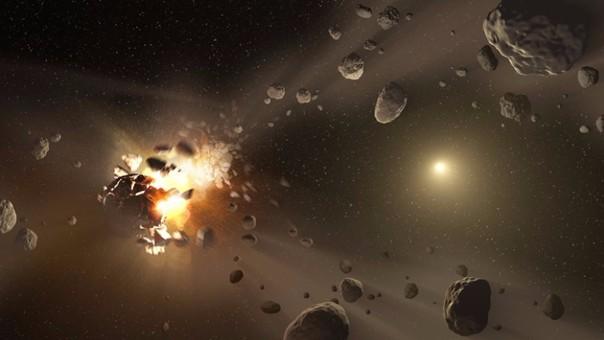 Un pequeño asteroide, bautizado