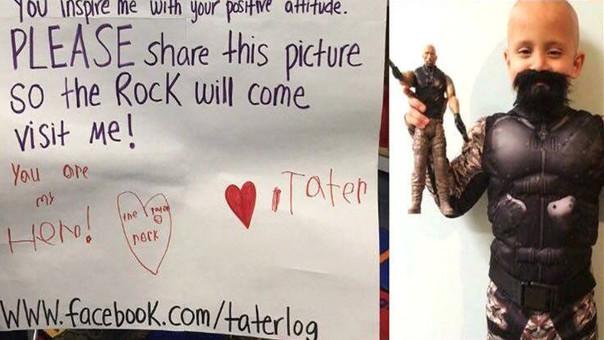 El pedido del niño se está viralizando en Facebook