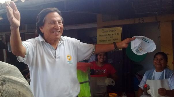 Toledo realizó campaña en Lambayeque
