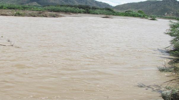 Incremento de río