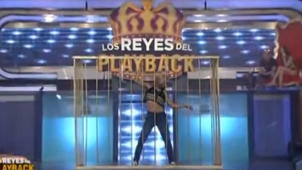 Luciano Rosso en 'Reyes del Playback'
