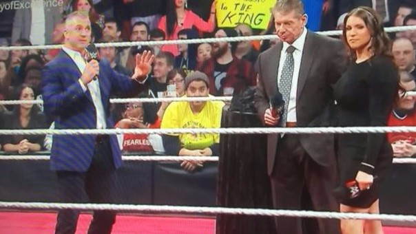 Shane McMahon volvió a la WWE con una agresiva propuesta a Vince