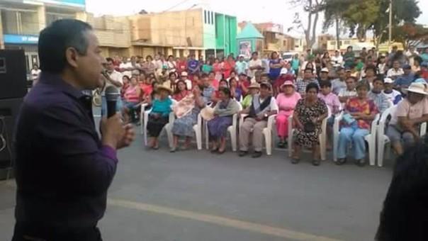 Alcalde de Chocope renuncia al directorio de Sedalib