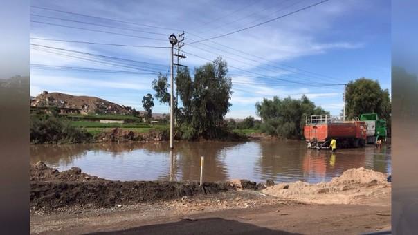 LLuvias afectan al sur