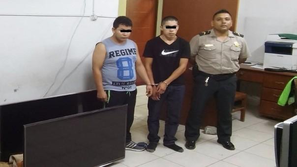 Detenidos en comisaria de Campodónico