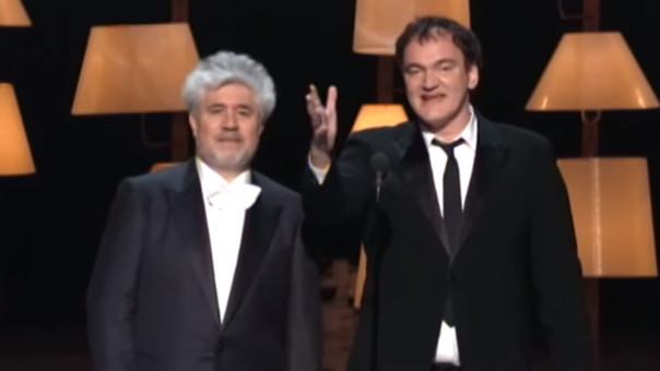 Pedro Almodóvar y Quentin Tarantino anunciaron al ganador