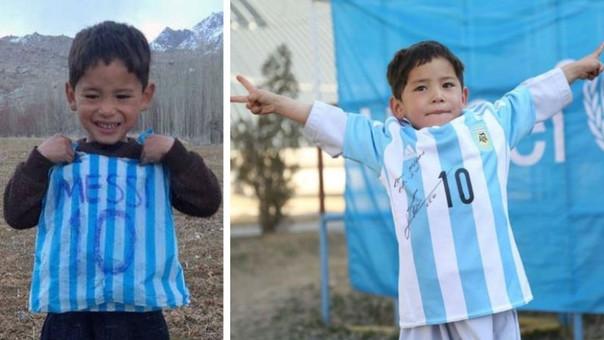 5358238ec7 Messi - Barcelona. Messi envía camisetas firmadas al niño ...
