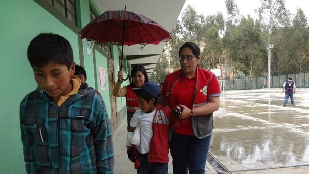 Otuzco: pese a lluvias, más de 21 mil escolares retornarán a aulas