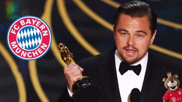 Bayern Munich también celebró el Óscar de Leonardo di Caprio
