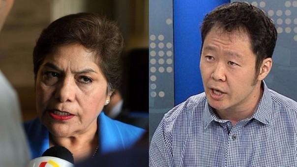 Luz Salgado y Keiko Fujimori