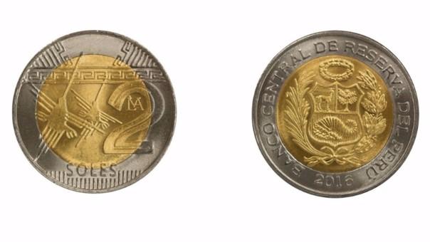 Esta Es La Nueva Moneda De S 2 Con La Denominación Sol Que Entrará En Circulación Rpp Noticias