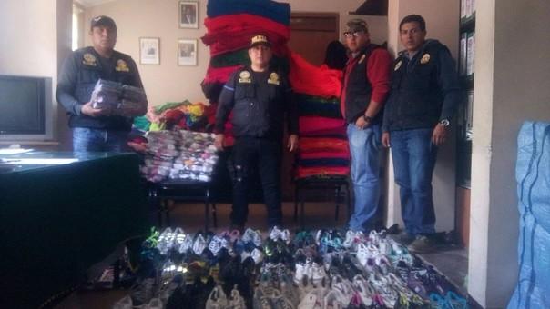 Ilegal mercadería era transportada desde Desaguadero.
