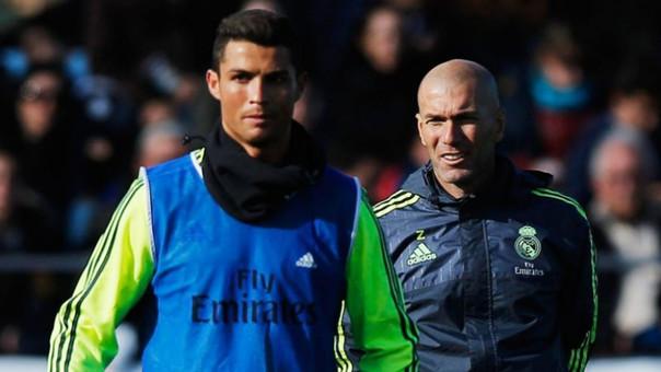 Zinedine Zidane - Cristiano Ronaldo - Real Madrid