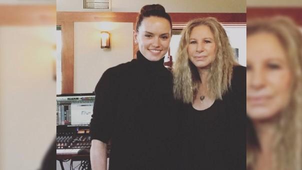 Daisy Ridley y Barbra Streisand