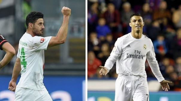 Cristiano Ronaldo - Claudio Pizarro