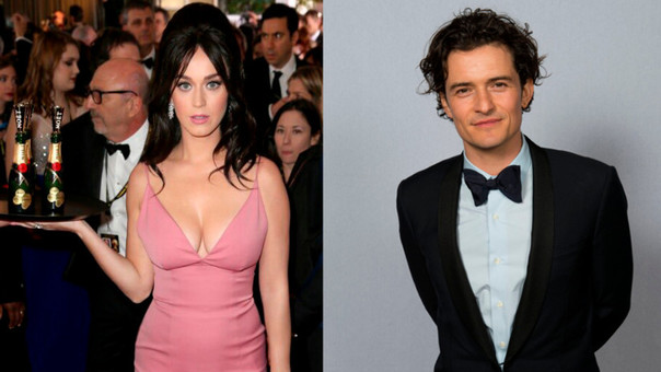Katy Perry y Orlando Bloom