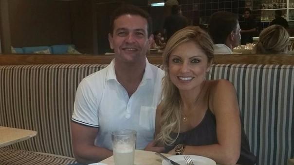 Orlando Fundichely y Karina Rivera