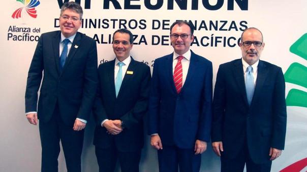 Ministros de Finanzas de la Alianza del Pacífico