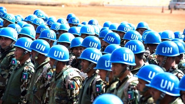 'Cascos azules' de la ONU