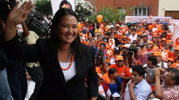 Candidata de Fuerza Popular, Keiko Fujimori, agradeció el apoyo de su madre Susana Higuchi en la campaña