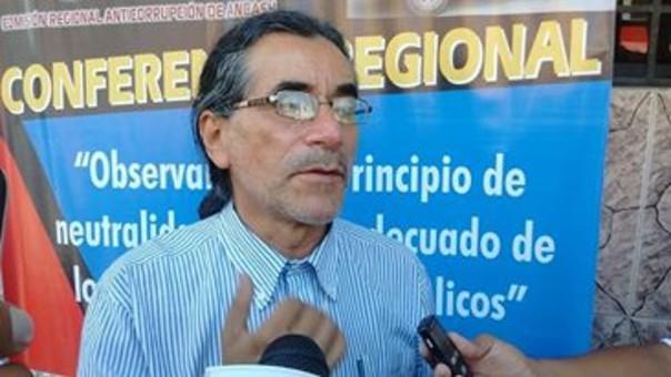 Gobernador regional, Waldo Ríos Salcedo