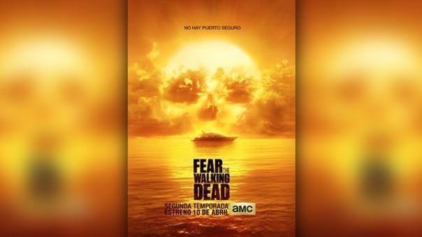 Fear the walking dead: revelan póster de la segunda temporada