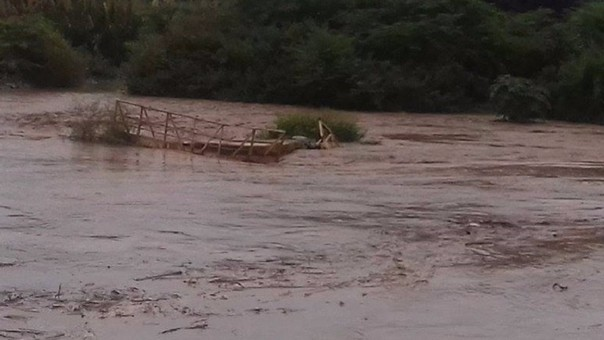 Puente Viejo sobre Río Zaña