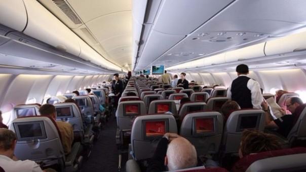 Imagen de un avión de AirFrance