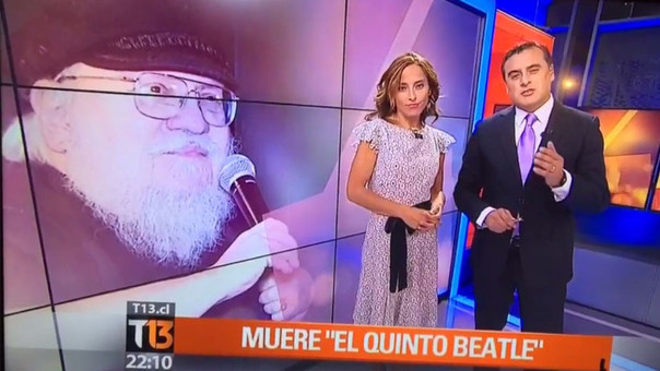George R.R. Martin aclara que sigue vivo 'todavía'
