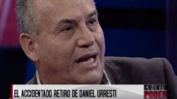 Daniel Urresti pidió trabajo en TV tras asegurar que estaba ...