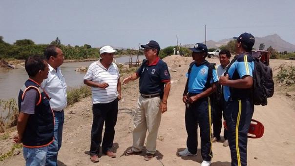 inspección al río Zaña